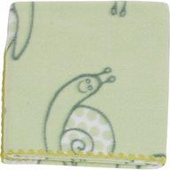 Womar - Paturica bebelusi colorata Polar Fleece 90 x 80 cm, Verde