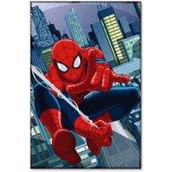 Star - Paturica copii Spiderman, Albastru Deschis/Rosu
