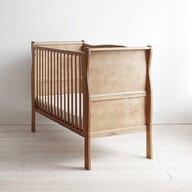Woodies Safe Dreams - Patut din lemn + saltea Noble Vintage Cocos-Spuma-Cocos, 120x60 cm
