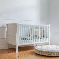 Woodies Safe Dreams - Patut transformabil Pentru bebe si junior, 140x70 cm, Alb