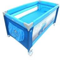 Coto Baby - Patut pliabil cu doua nivele Samba Plus , Albastru