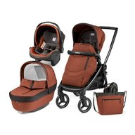 Peg Perego - Carucior 3 in 1 Black Mat Team