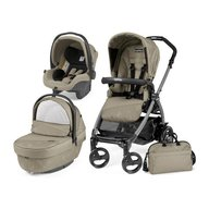 Peg Perego - Carucior 3 in 1 Book Plus 51 Black Sportivo Geo