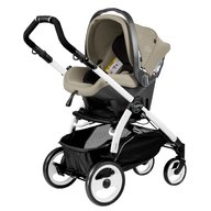 Peg Perego - Carucior 3 in 1 Book Plus 51 Black&White Sportivo Geo