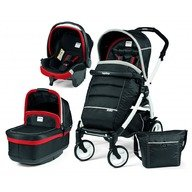 Peg Perego Carucior 3 in 1 Book Plus 51 Black&White Pop-Up Synergy