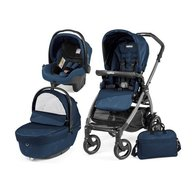 Peg Perego- Carucior 3 in 1 Book Plus 51 S Black Sportivo Geo