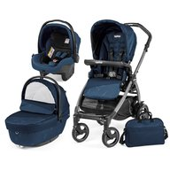 Peg Perego - Carucior 3 in 1 Book Plus 51 S Black Sportivo Geo