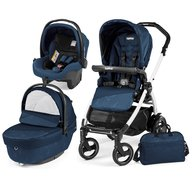 Peg Perego - Carucior 3 in 1 Book Plus 51 S Black&White Sportivo Geo