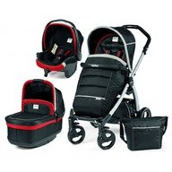 Peg Perego Carucior 3 in 1 Book Plus Black&Silver Pop-Up Synergy