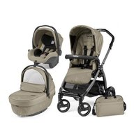 Peg Perego- Carucior 3 in 1 Book Plus S Black Sportivo Geo