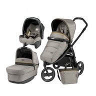 Peg Perego - Carucior 3 in 1 Book Scout, Matt Black, Pop-Up Elite