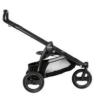 Peg Perego- Carucior 3 in 1 Book Scout, Matt Black, Pop-Up Elite