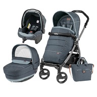 Peg Perego Carucior 3 In 1, Peg Perego, Book Plus 51, Black, Completo Elite