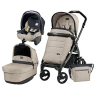 Peg Perego - Carucior 3 In 1, Peg Perego, Book Plus 51, Black, POP-UP Elite