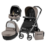 Peg Perego - Carucior 3 in 1, Peg Perego, Book Plus 51, Black, Sportivo Bloom