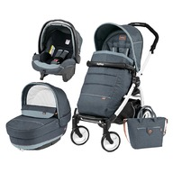 Peg Perego - Carucior 3 In 1 Book Plus 51 Completo Elite Black&White