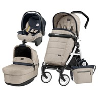 Peg Perego - Carucior 3 in 1 Book Plus 51 POP-UP Elite Black&White