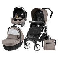 Peg Perego - Carucior 3 In 1Book Plus 51 Sportivo Bloom Black&White,