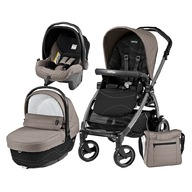 Peg Perego - Carucior 3 in 1 Book Plus 51 S Sportivo Bloom Black