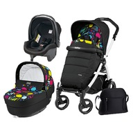 Peg Perego - Carucior 3 in 1 Book Plus 51 S Completo Elite Black&White
