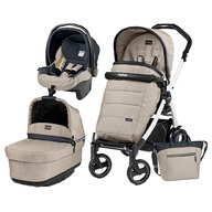 Peg Perego - Carucior 3 in 1 Book Plus 51 S Pop-Up Elite Black&White