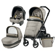 Peg Perego - Carucior 3 in 1 Book Plus Completo Elite Black Matt