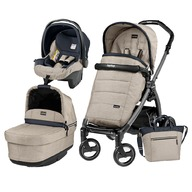 Peg Perego Carucior 3 In 1, Peg Perego, Book Plus S, Black, POP-UP Elite