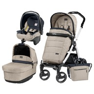 Peg Perego - Carucior 3 In 1 Book Plus S Pop-Up EliteBlack & White