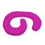MyKids - Perna de alaptare multifunctionala Stelute Pink-White