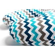 Womar Zaffiro - Perna de alaptat Comfort Exclusive 140 cm , Albastru/Gri