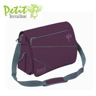 Petit Terraillon Geanta transport evolutiva Plum