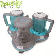 Petit Terraillon - Robot multifunctional Petit Gourmet Style Blue-Grey