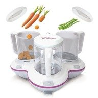 Petit Terraillon Robot Multifunctional Petit Gourmet Style Cream-Purple