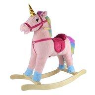 Petite&Mars - Balansoar cu sunete Unicornul Candy