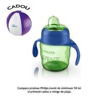 Philips Avent Cana cu tetina de formare 200 ml 6 luni+