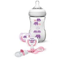 Philips Avent Natural - Set cadou Elephant pentru fete