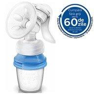 Philips Avent Natural Pompa Manuala pentru san