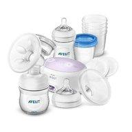 Philips Avent - Pompa de san electrica simpla & set depozitare lapte