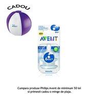 Philips Avent Tetina hrana consistenta 6+