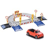 Majorette - Pista de masini Creatix Starter Pack cu 1 masinuta Volkswagen