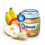 Humana - Piure ECO de banane si mere, 125g, 6luni+