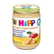 HiPP - Piure Hipp Fruct & Cereale – mere si banana cu biscuit 190 gr