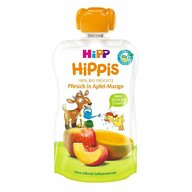 HiPP - Piure Hippis din mar, mango, piersica, 100 gr