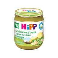HiPP - Piure Hipp piure cartofi cu spanac si legume 125 gr