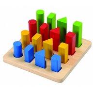 Plan Toys - Joc de sortare cu forme geometrice