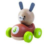 Plan Toys - Masinuta cu iepuras