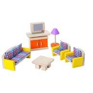 Plan Toys - Mobilier pentru casuta papusii - living room