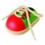 Plan Toys - Pantof de jucarie cu sireturi pentru copii