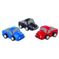Plan Toys - Set cu 3 mini-camioane