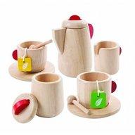 Plan Toys - Set natur pentru servirea ceaiului